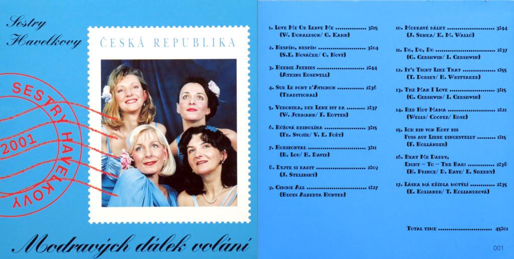 CD Modravých dálek